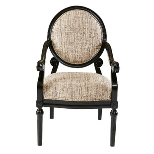 Goode Exposed Wood Armchair