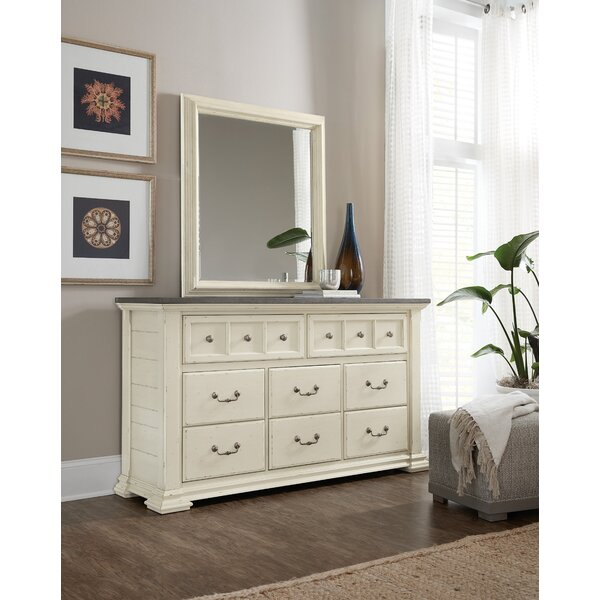 Sturbridge 8 Drawer Double Dresser with Mirror by Hooker Furniture