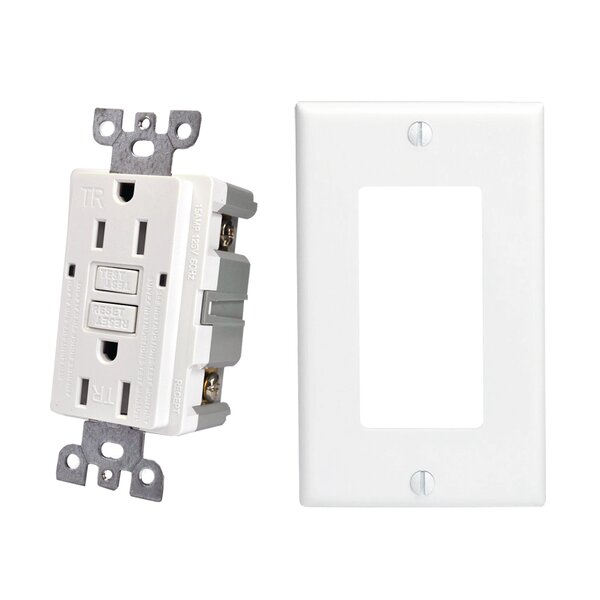 Builderselects Duplex Light Switch by HomeSelects International