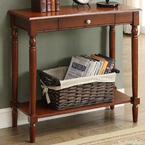 Callery Wood Console Table. Espresso ...