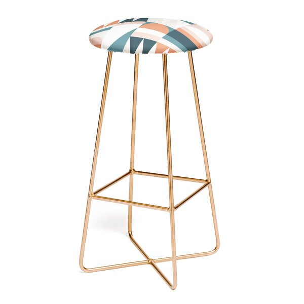 The Old Art Studio Cirque 30 Bar Stool by East Urban Home