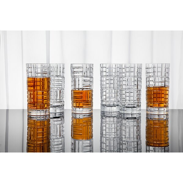 10 oz. Crystal Highball Glass (Set of 6) by Studio Silversmiths