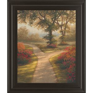 'Morning Light II' Framed Painting Print by Andover Mills