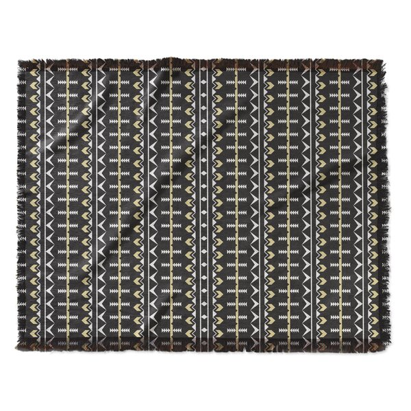 Elliana Wash Woven Blanket by Bungalow Rose