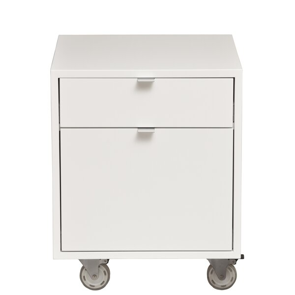 High Line 2-Drawer Mobile Vertical File by Urbangreen Furniture