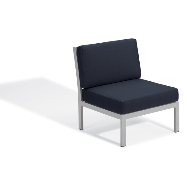 Caspian Modular Side Patio Chair with Cushions by Sol 72 Outdoor