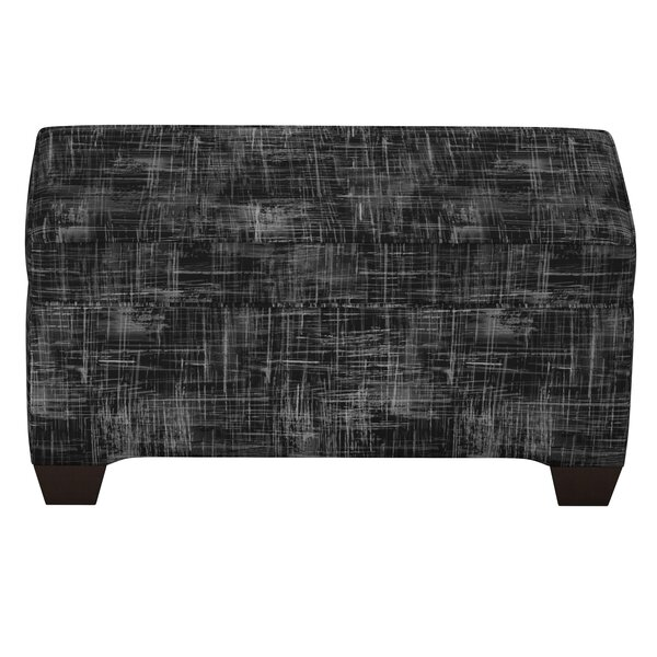Stutler Linen Upholstered Storage Bench by Brayden Studio