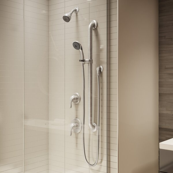 Origins Pressure Balanced Diverter Handheld Shower Head Complete Shower System by Symmons