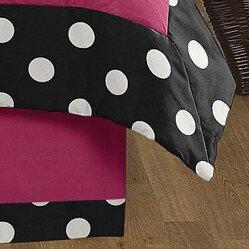 Hot Dot Queen Bed Skirt by Sweet Jojo Designs