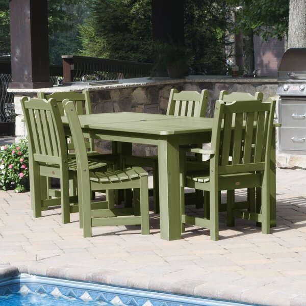 Cassell 7 Piece Dining Set by Three Posts