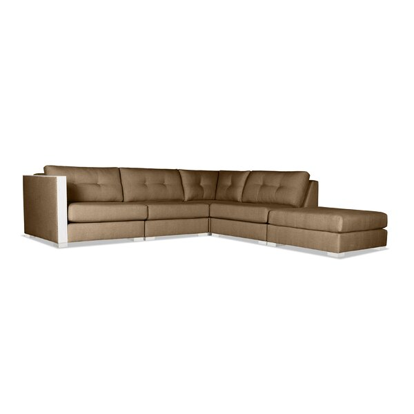 Review Steffi Right Hand Facing Modular Sectional With Ottoman