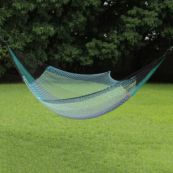 Baylor Ultimate Relaxation Cotton Rope Tree Hammock by World Menagerie