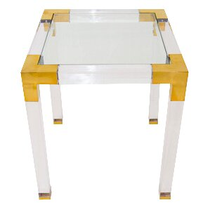 Lucite Trousdale End Table by ModShop