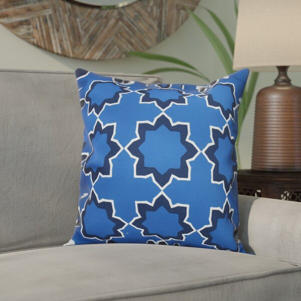 Meetinghouse Bohemian Geometric Outdoor Throw Pillow by Bungalow Rose