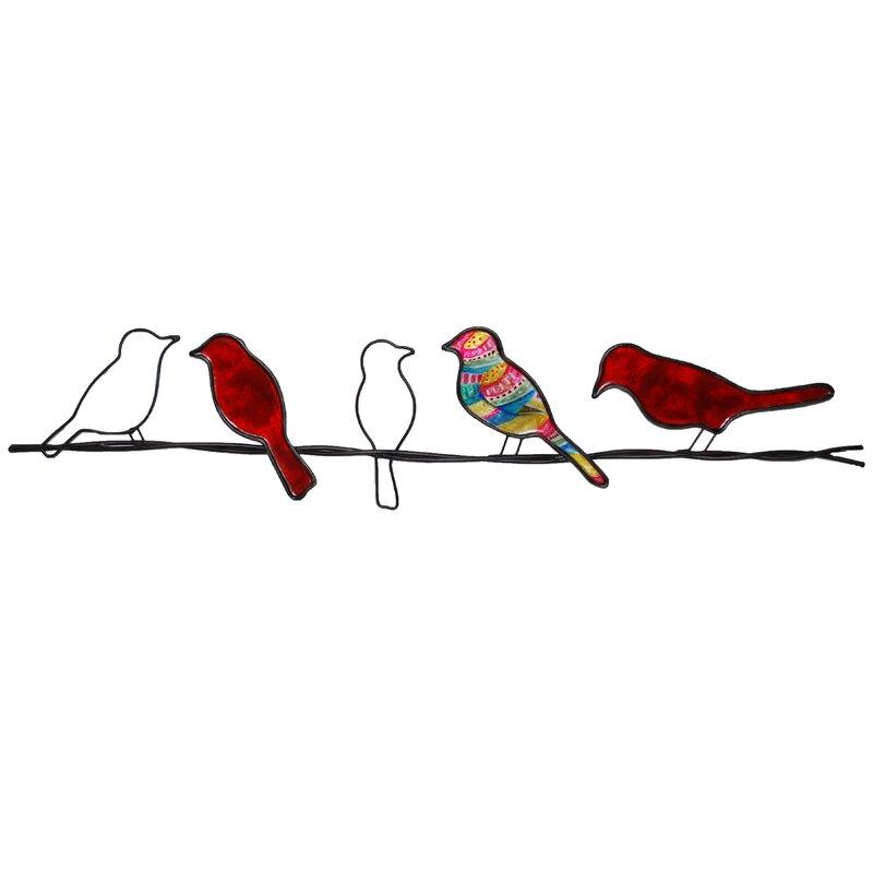 Winston Porter Modern Birds On A Wire Wall Décor & Reviews ...