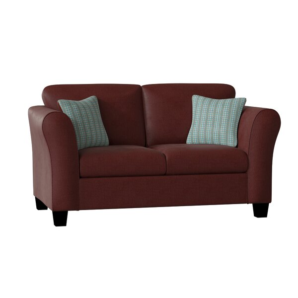 New Chic Fredericktown Loveseat by Three Posts by Three Posts