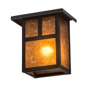 Find for Alluvial Square Outdoor Flush Mount By Bloomsbury Market