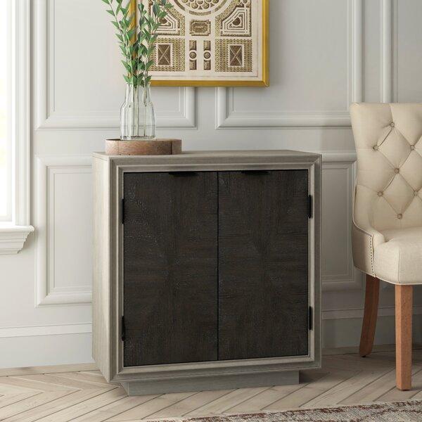 Oden Duo tone Parquet 2 Door Accent Cabinet by Greyleigh Greyleigh