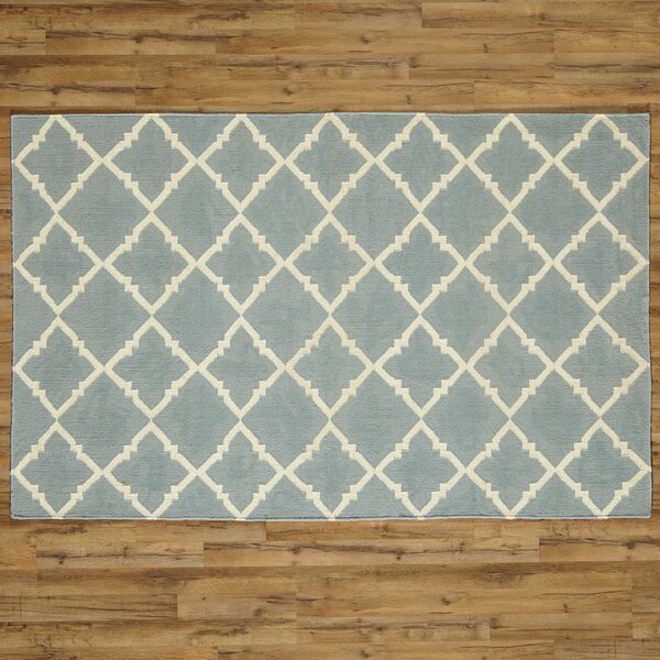 Darby Hand-Woven Blue Area Rug by Birch Lane™