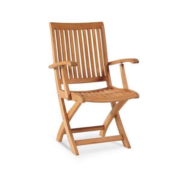 Winford Teak Folding Patio Dining Chair by HiTeak Furniture