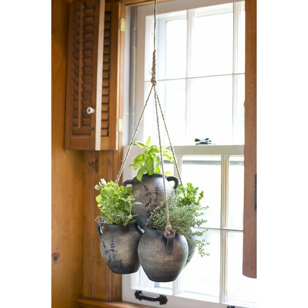 Clay Hanging Planter by Wind & Weather