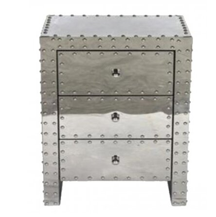 Ankara 3 Drawer Nightstand by 17 Stories