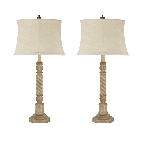 Keifer 31'' Table Lamp (Set of 2) by Ophelia & Co.
