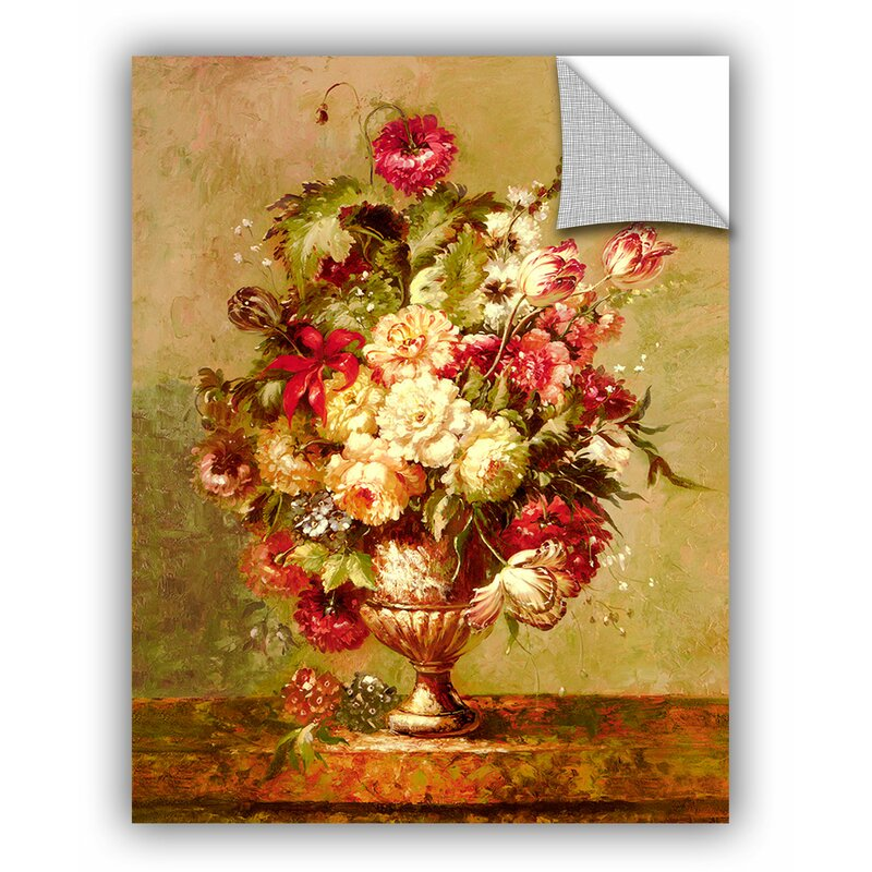 ArtWall Cho Renaissance Flowers II Wall Mural | Wayfair