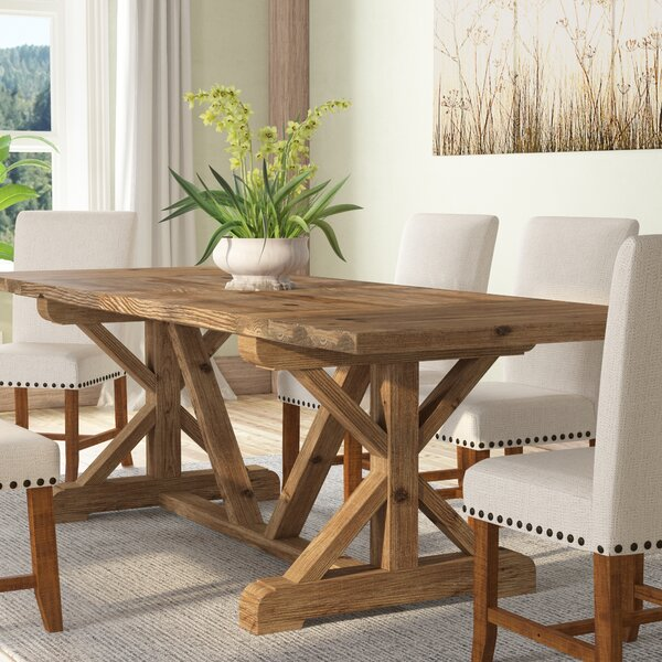 Camden Den Extendable Solid Wood Dining Table by Gracie Oaks Gracie Oaks