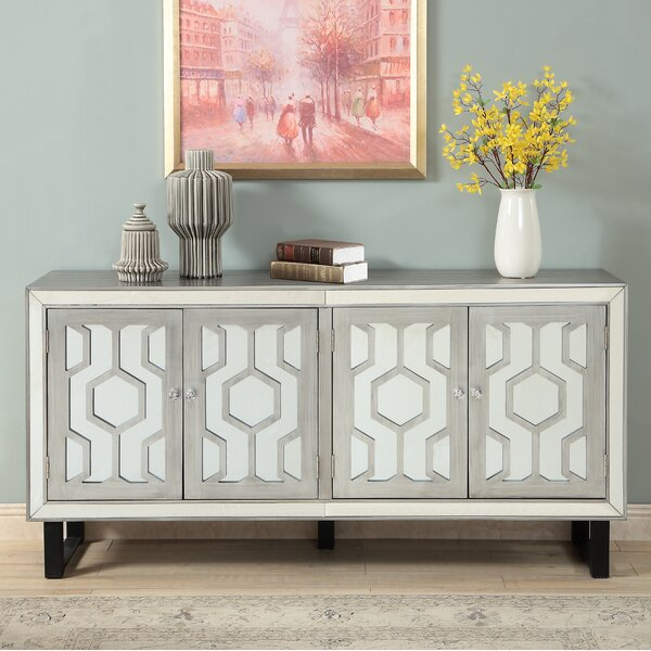Dabria Media Credenza by Everly Quinn Everly Quinn