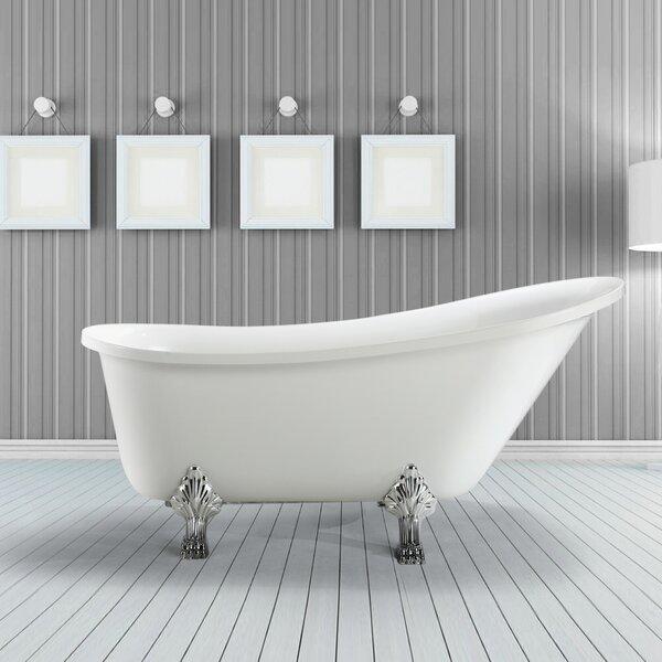 Jacqueline 70 x 30 Soaking Bathtub by Vinnova