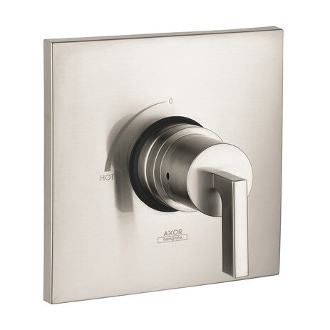 Axor Citterio Pressure Balance Faucet Trim with Lever Handle by Axor