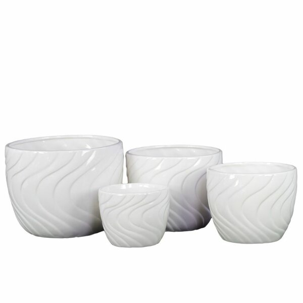 Charron 4-Piece Ceramic Pot Planter Set by Ivy Bronx