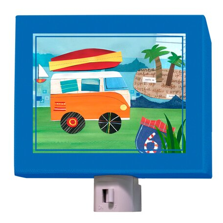 On the Road - Beach Night Light by Oopsy Daisy