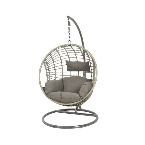 Warkentin Swing Chair with Stand by Bungalow Rose