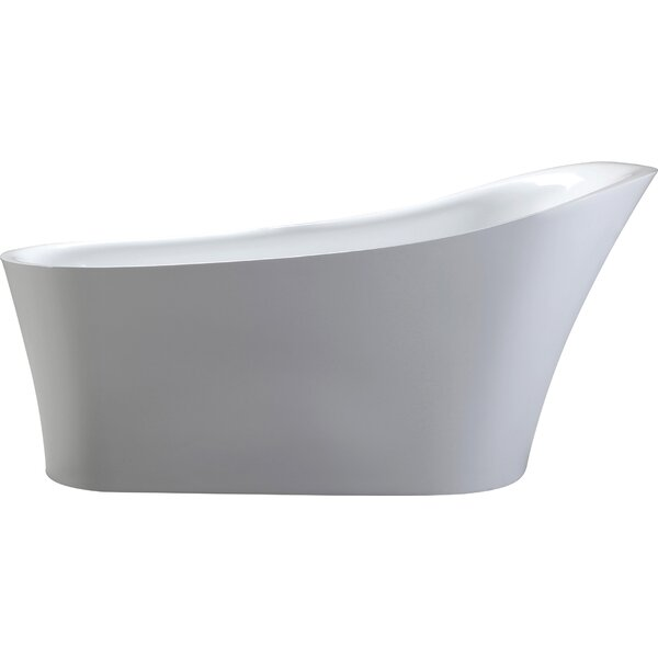 HelixBath Alexandria 67 x 31.5 Soaking Bathtub by Kardiel
