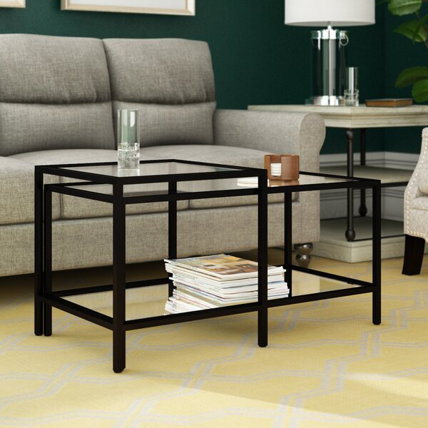 Nero Coffee Table With Storage By Andover Mills