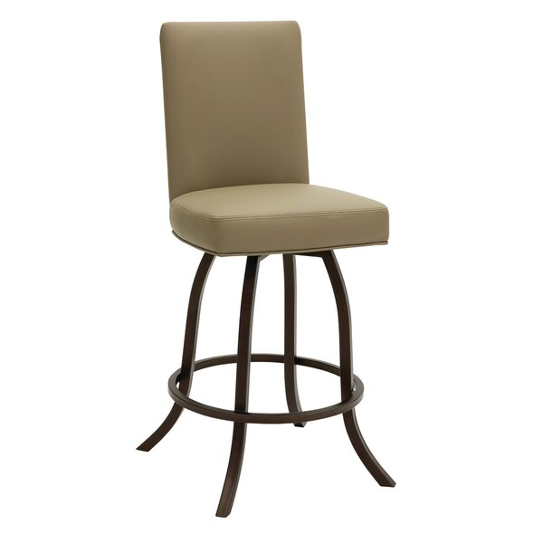 Ridley 30 Swivel Bar Stool by Gracie Oaks