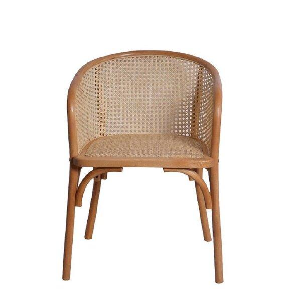 Cara Rattan Arm Chair (Set of 2) by Bayou Breeze Bayou Breeze