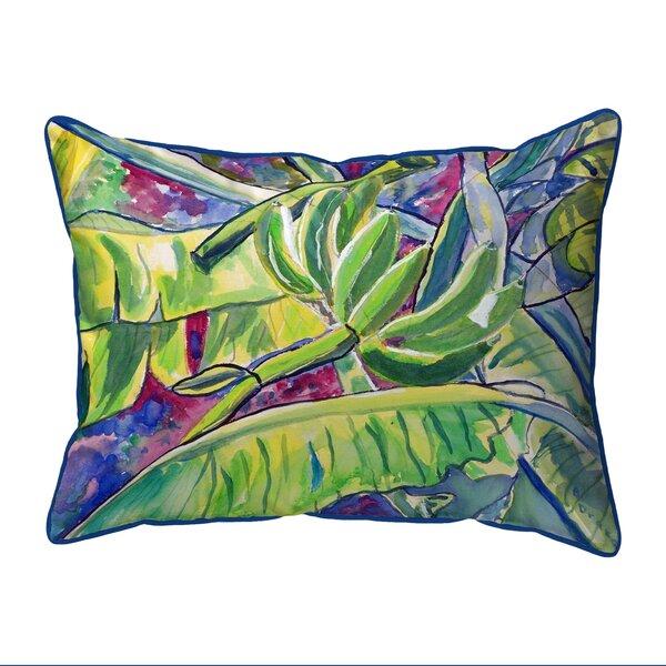 Bananas Indoor/Outdoor Lumbar Pillow