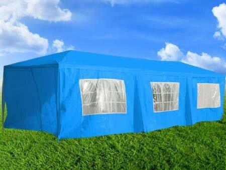 Haddox Steel Party Tent by Mercury Row