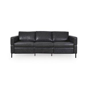 Bye Leather Reclining Sofa