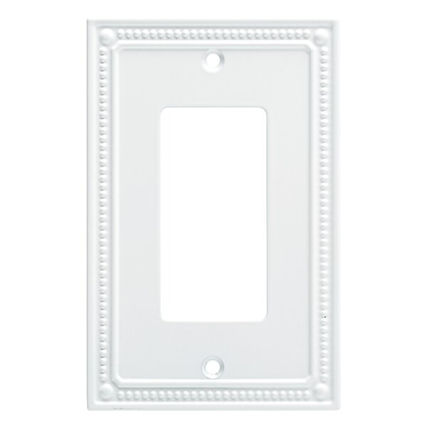 Classic Beaded Single Decorator Wall Plate by Franklin Brass
