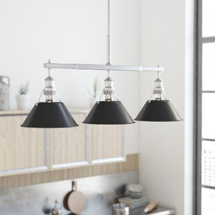 Weatherford Linear 3 Light Kitchen Island Pendant