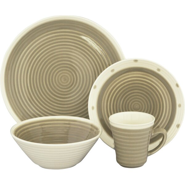 Rico 16 Piece Dinnerware Set, Service for 4 by Sango
