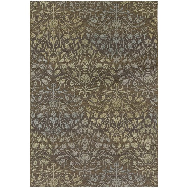 Ridgway Flatweave Brown Indoor/Outdoor Area Rug by Darby Home Co