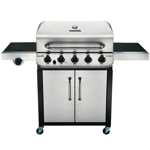 Performance 5-Burner Propane Gas Grill with Cabinet by Char-Broil