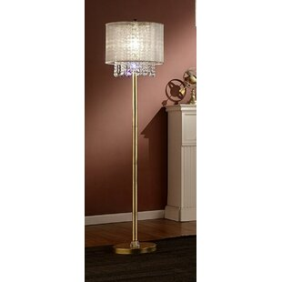 Order Sunikka Crystal 65 Floor Lamp By Everly Quinn