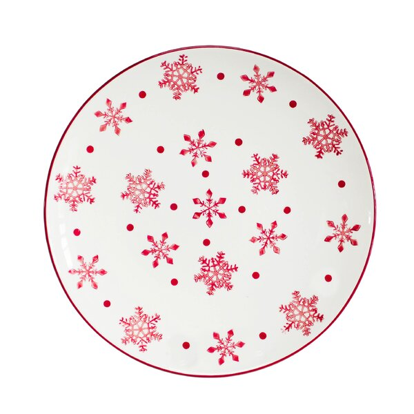 Winterfest Round Platter by The Holiday Aisle