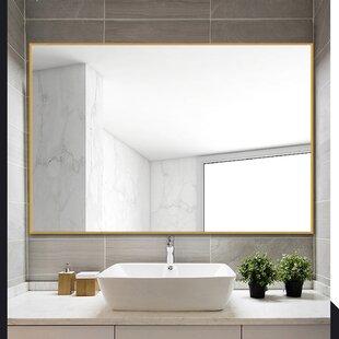 Bathroom Mirrors.Bathroom Mirror Rectangle Wayfair
